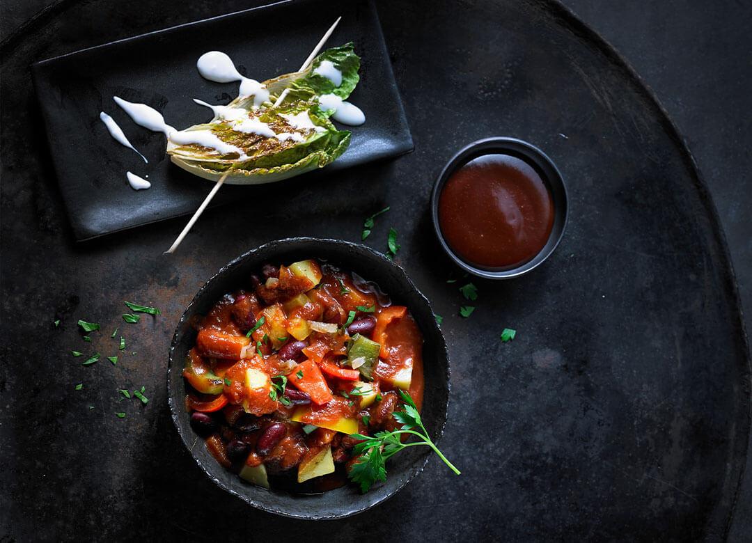vegansk mad og vegetarretter