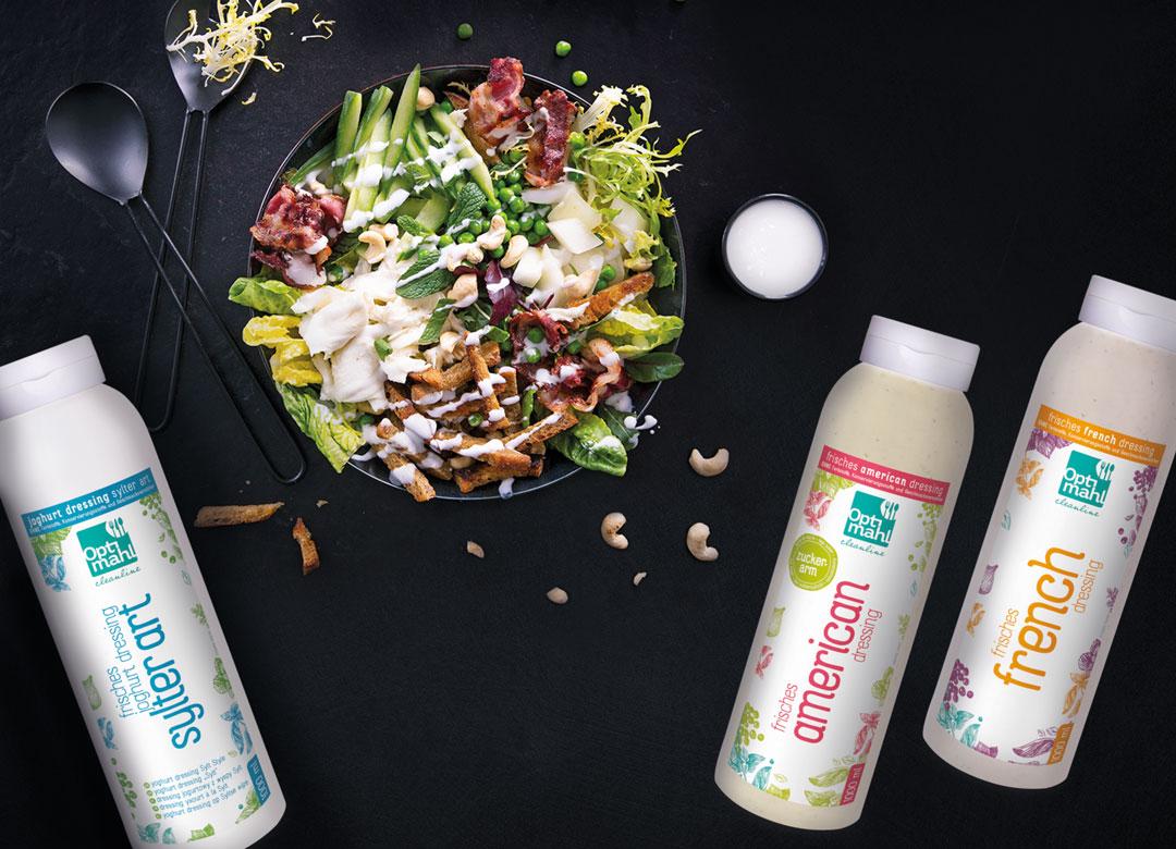 Veganske dressinger og vegetarretter til moderne plantebaseret mad.